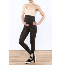 Lux Junkie Maternity Maternity Legging - Dark Charcoal Grey