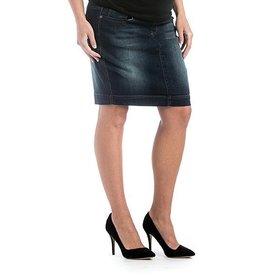 Lilac Maternity Lilac Denim Skirt - Dark Wash