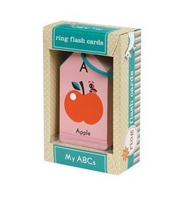 Chronicle Books My ABC's Ring Flash Cards