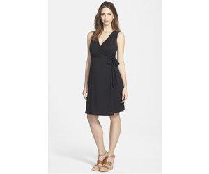 02d6e58d71 Ingrid   Isabel Maternity Sleeveless Wrap Dress - Jet Black - Bump   Baby