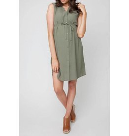 Ripe Maternity April Tunic Dress - Khaki