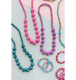 31 Bits Bitsies Necklace - Purple