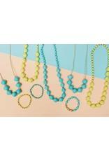 31 Bits Bitsies Necklace - Turquoise