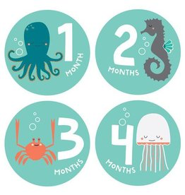 Lucy Darling Lucy Darling Milestone Stickers - Snorkeling Adventures