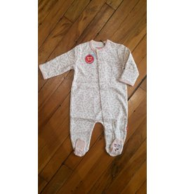 Magnificent Baby Magnetic Cotton Footie - Bedford Floral