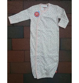 Magnificent Baby Magnetic Cotton Gown - Bedford Floral