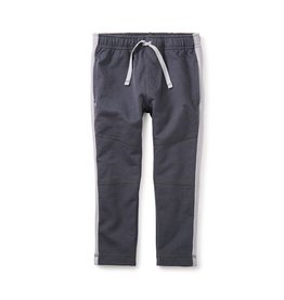 Tea Collection Side Stripe Sport Pants - Coal
