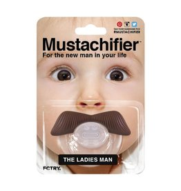 FCTRY Mustachifier Pacifier - The Ladies Man