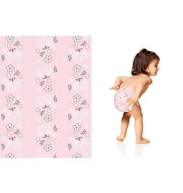 Honest Company Honest Diapers - Pink Bandana