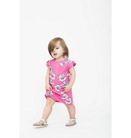 Art & Eden Ivy Baby Dress - Pink Plumeria