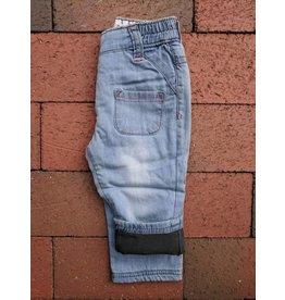 Kanz Patch Pocket Lined Baby Denim - Stone Wash