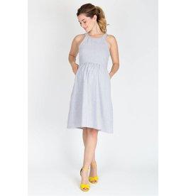 NOM Maternity Molly Dress - Seersucker