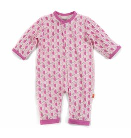 Magnificent Baby Magnetic Modal Coverall - Mod Owls
