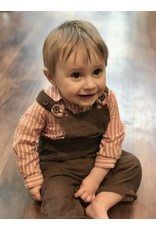 Me + Henry Me + Henry Corduroy Overall Outfit - Natural