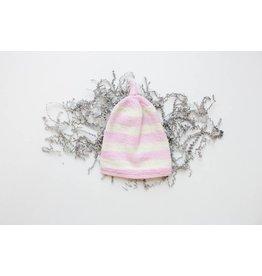 Pinewood Organic Pinewood Organic Hat - Sweet Pea Pink Wide Stripe