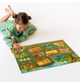 Petit Collage Floor Puzzle - Count on the Train
