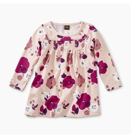 Tea Collection Rosada Pop Smocked Baby Dress