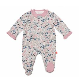 Magnificent Baby Magnetic Modal Footie - Cambridge Floral