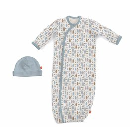 Magnificent Baby Magnetic Cotton Gown - Beary Good Pals