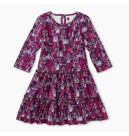 Tea Collection Forest Friends Tiered Dress