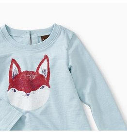 Tea Collection Friendly Fox Graphic Baby Outfit