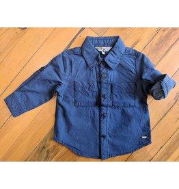 Kanz Campfire Pocket Baby Buttondown - Nightsky
