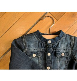 Kanz Denim Baseball Baby Jacket