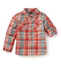 Tea Collection Tea Collection  michaelangelo plaid shirt size 7