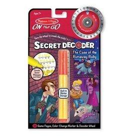 Melissa and Doug melissa and doug craft secret decoder red