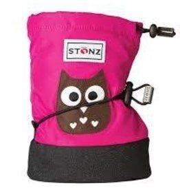 Stonz Stonz booties owl fuchsia M