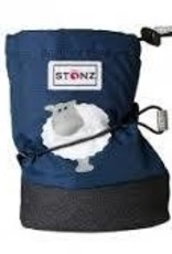 Stonz Stonz booties sheep navy blue M