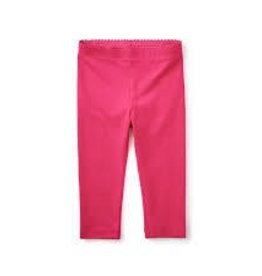 Tea Collection Tea Collection skinny solid capris pink sz 3