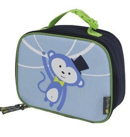 Itsy Ritsy Itsy Ritzy lunch box insulated blue monkey