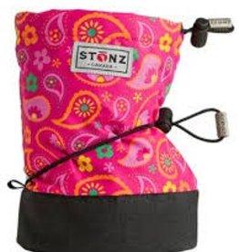Stonz Stonz Booties Paisley Pink-Fuchsia L