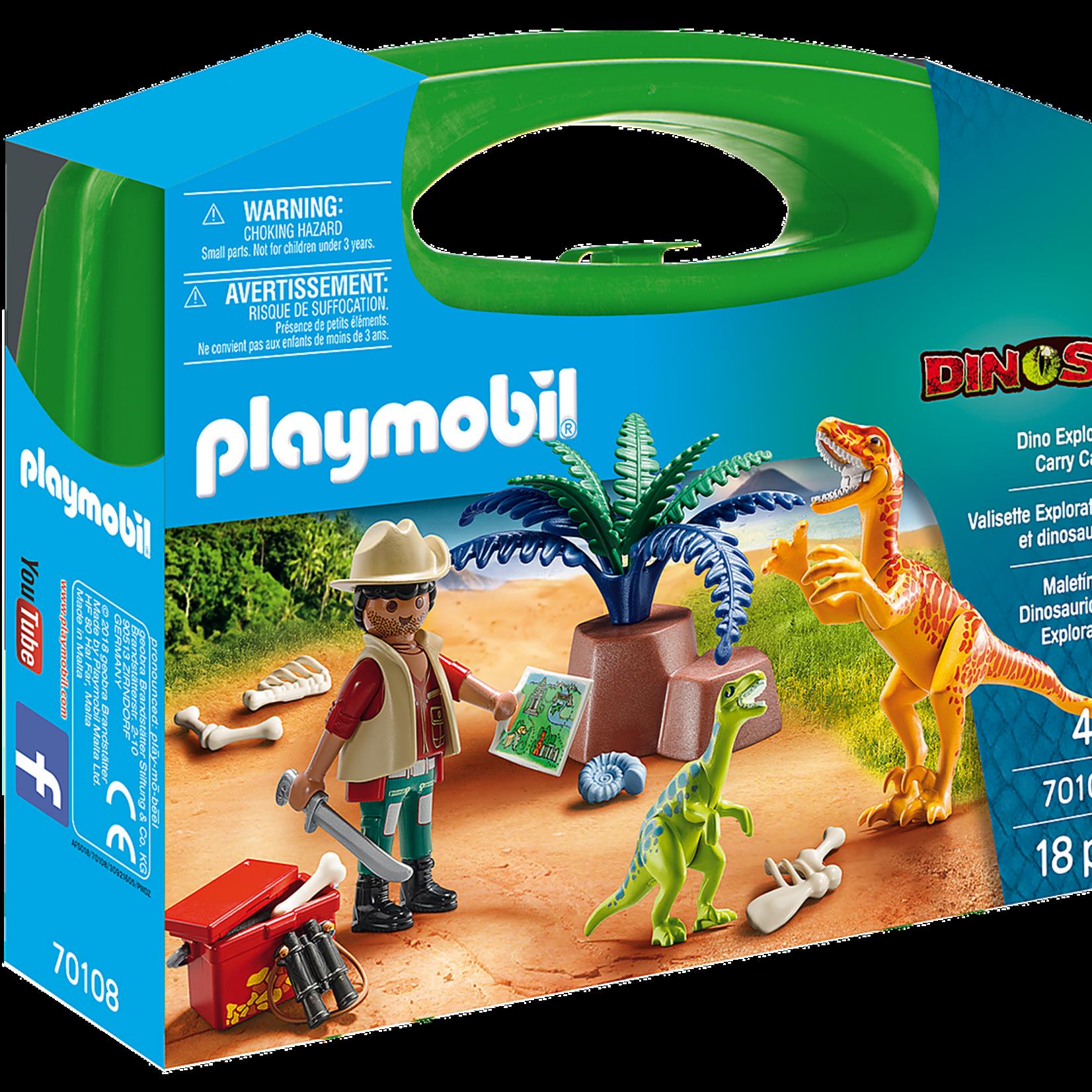 Playmobil Dino Explorer Carry Case - Playmobil 70108