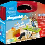 Playmobil Vet Visit Carry Case - Playmobil 5653