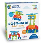 Learning Resources 1-2-3 Build It! Robot