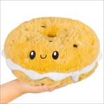 Squishable Mini Bagel w/Cream Cheese
