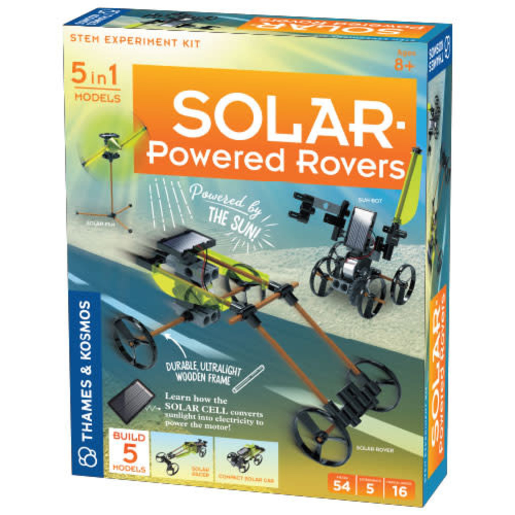 Thames & Kosmos Solar-Powered Rovers
