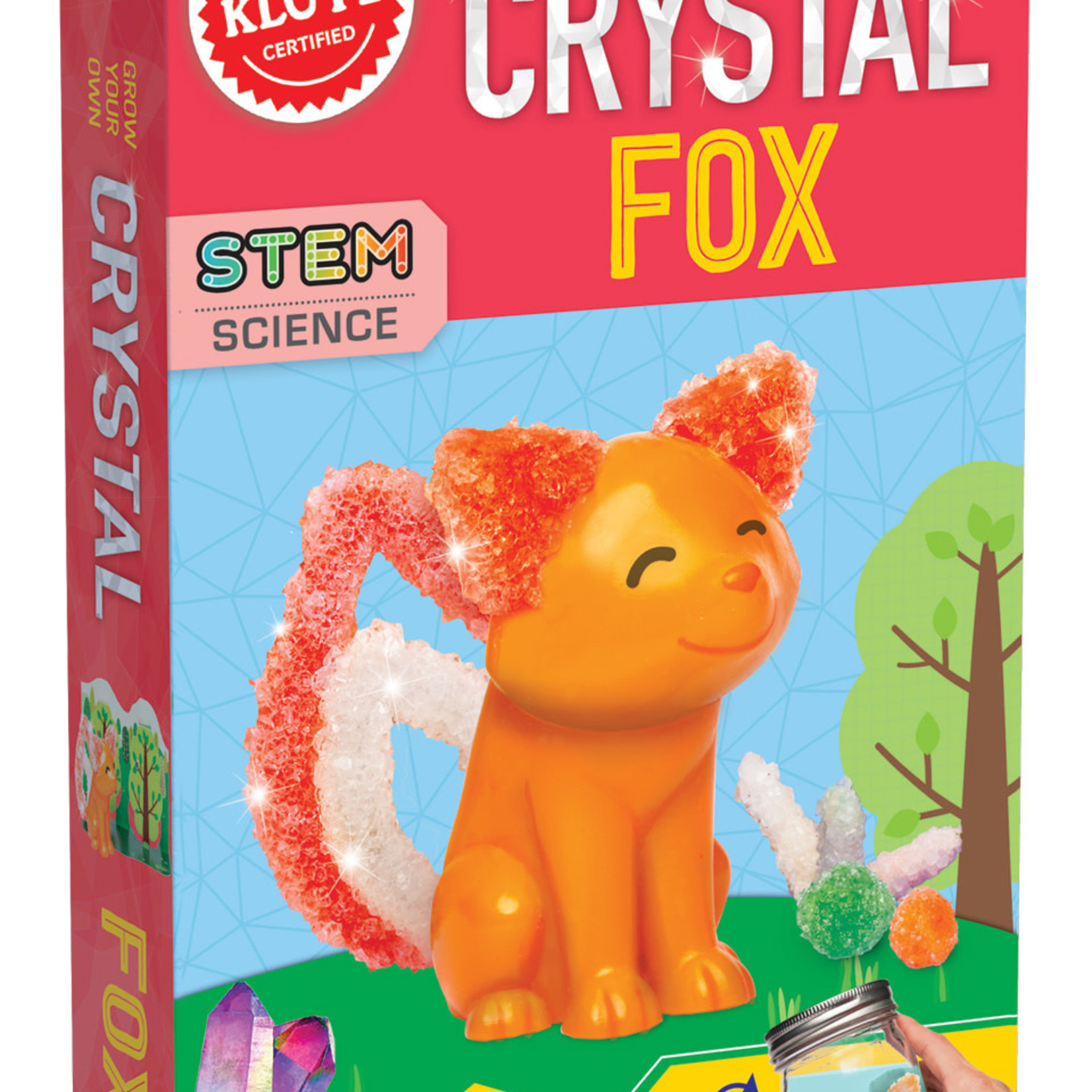 Klutz Crystal Fox