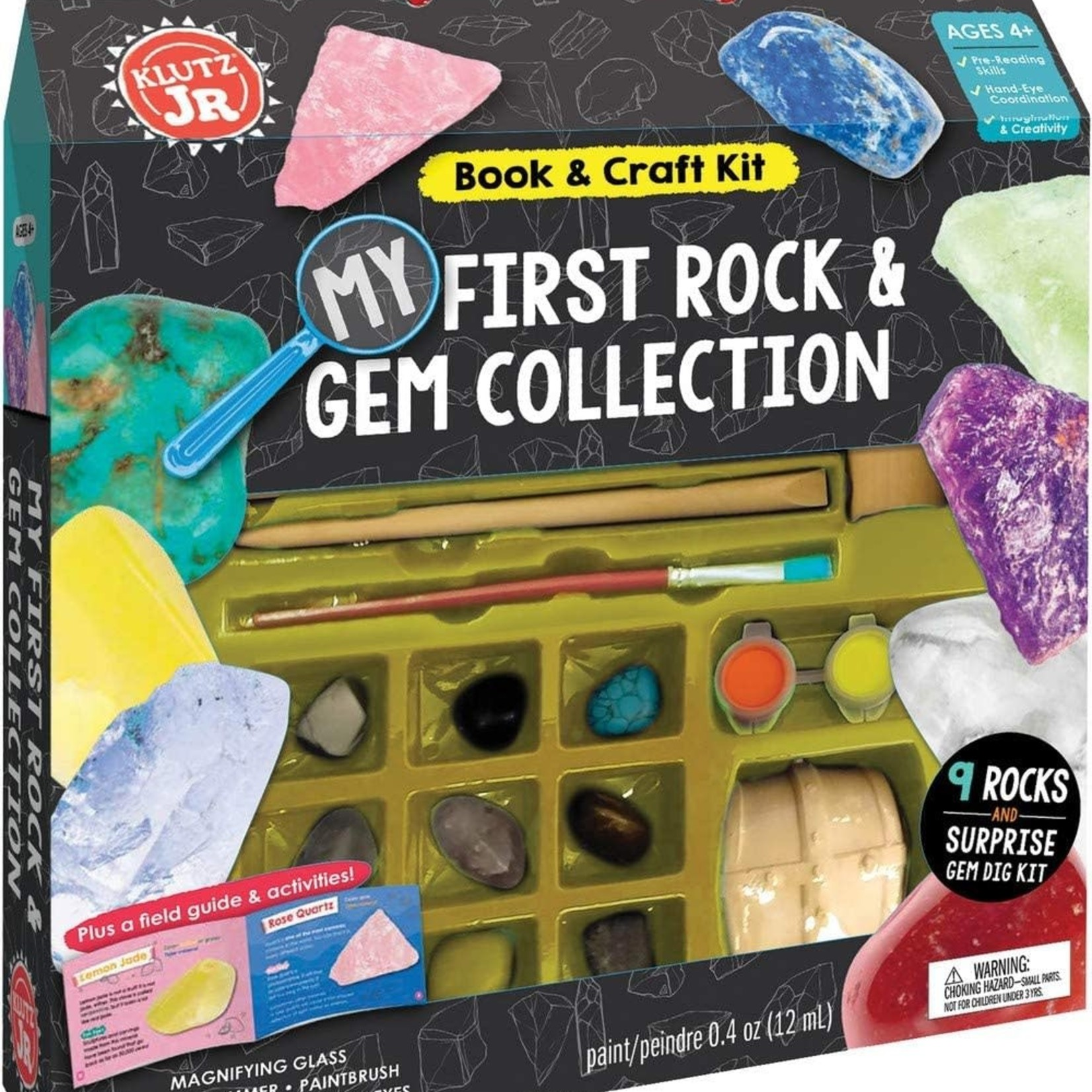 Klutz Jr My First Rock & Gem Collection
