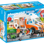 Playmobil Ambulance with Flashing Lights -Playmobil 70049