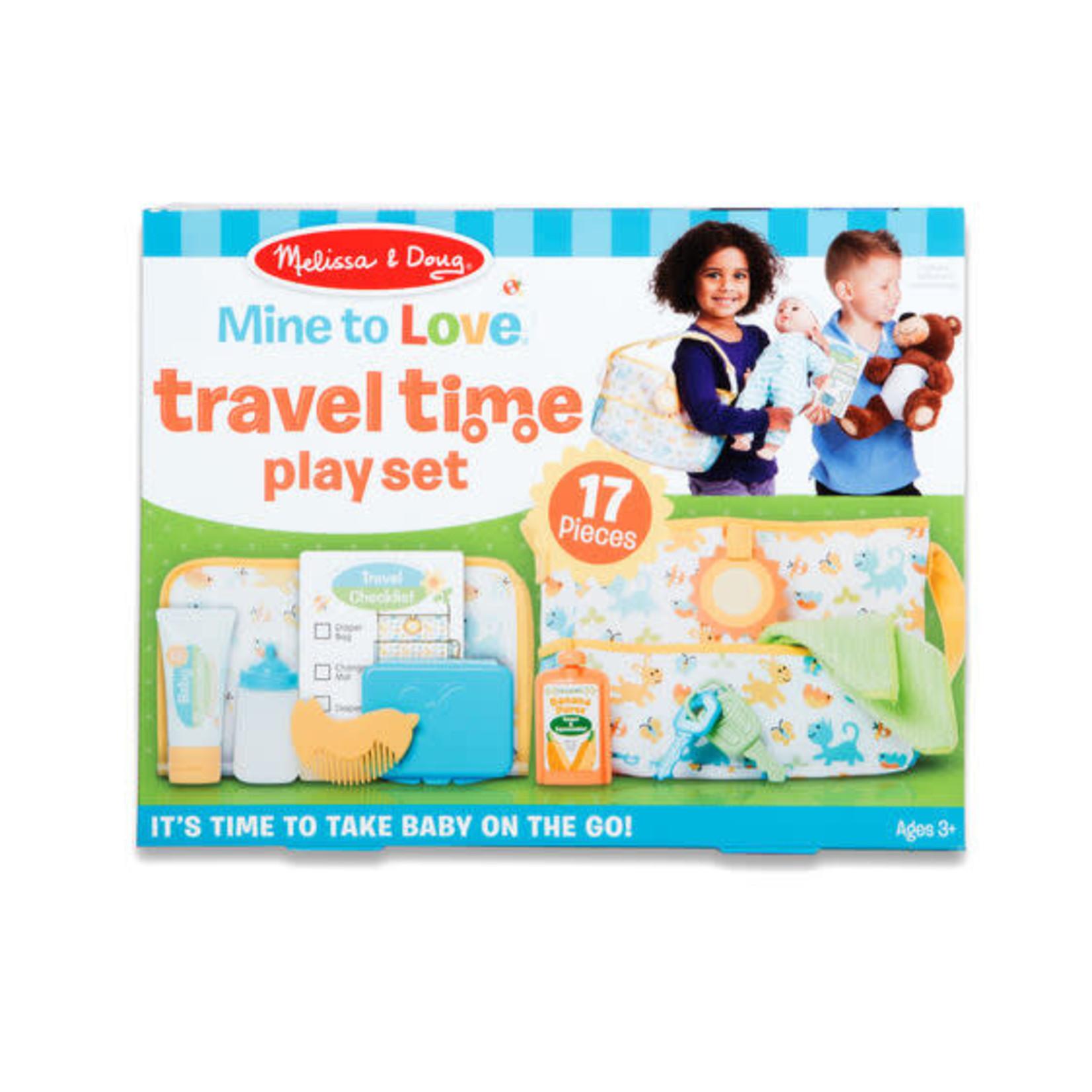 Melissa & Doug Travel Time Play Set