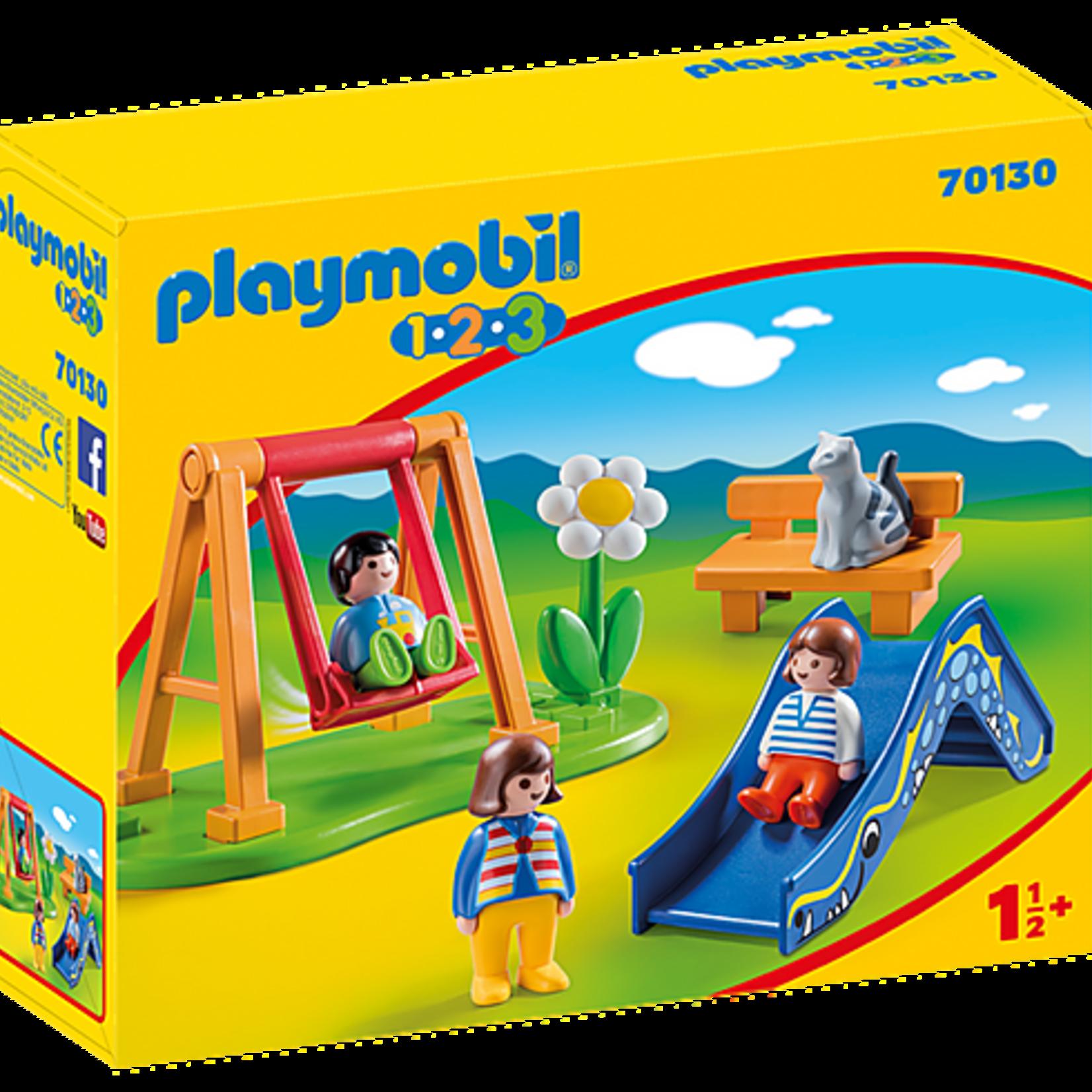 Playmobil Children's Playground - Playmobil 1,2,3  70130