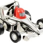 Aeromax Silver Aero Pull Back Race Car