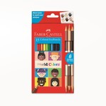 Faber-Castell World Colors - 15ct EcoPencils
