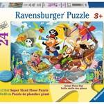 Ravensburger Land Ahoy! - Floor Puzzle 24pc