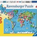 Ravensburger World Map - 60 pc