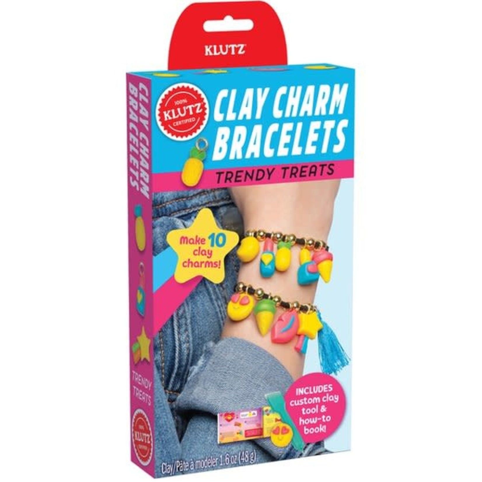 Klutz Clay Charm Bracelets - Trendy Treats