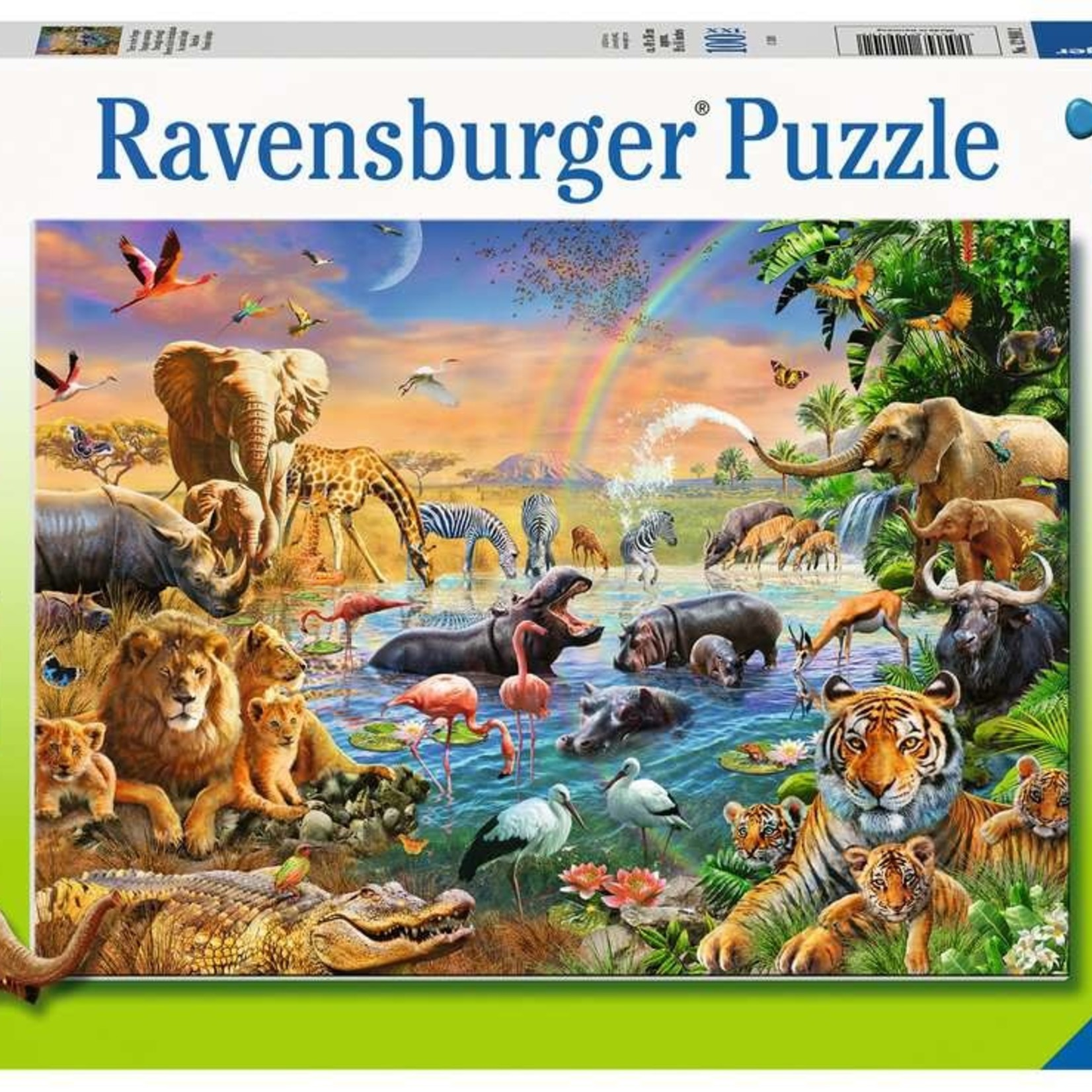 Ravensburger Savannah Jungle Waterhole - 100 pc